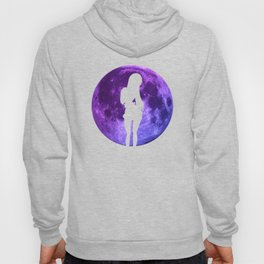 Anime Moon Inspired Design Hoody