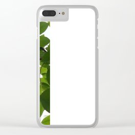 Tree and light Clear iPhone Case