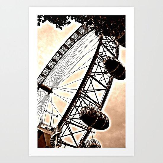 London eye 2 Art Print