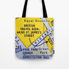Streets of London 2 Tote Bag
