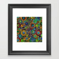 Rings pattern 2 Framed Art Print