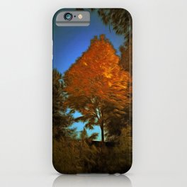 The Golden Tree iPhone Case