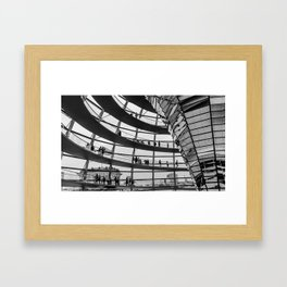 Bundestag Berlin Framed Art Print