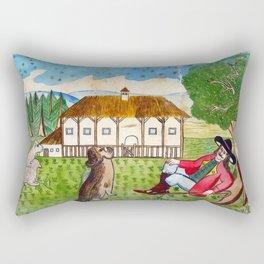 BETHLEHEM PROSPECTUS 4 (Painted Shed) Rectangular Pillow