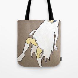 Dancing Girl Ghost Tote Bag
