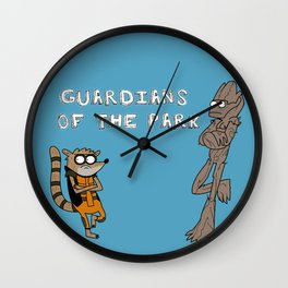 Guardians of the Park Wall Clock