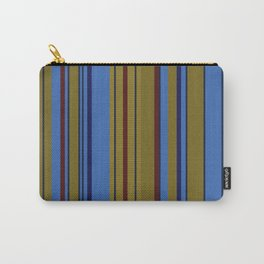 Vertical Stripes # 2 Carry-All Pouch