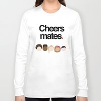 misfits Long Sleeve T-shirts featuring Misfits Cheers by The Kid