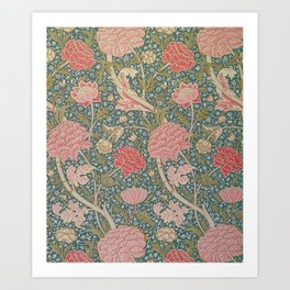 William Morris Cray Pattern Art Print