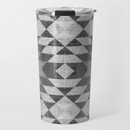 GREY DIAMOND LINEN Travel Mug
