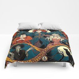Sanderson Sisters Tour Poster Comforters