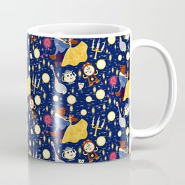 Be Our Guest Pattern Coffee Mug