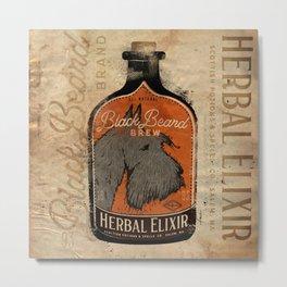 Scottie Dog Scottish terrier elixir halloween brew autumn october  Metal Print