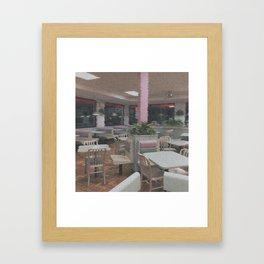 F O O O D ~ C O U R T Framed Art Print