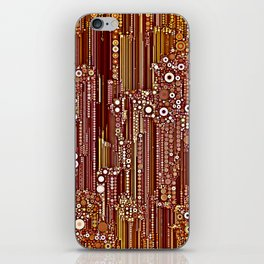 Cityscape in Earthtones iPhone Skin