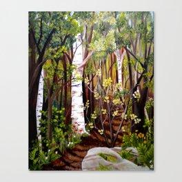 The Woodland Trail Canvas Print