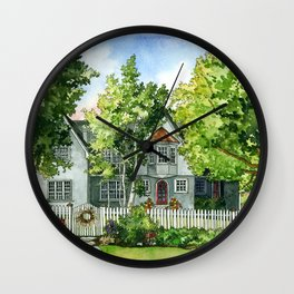 The Red Door Wall Clock