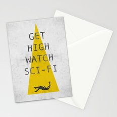 watch sci-fi Stationery Cards