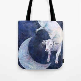 The Cow Jumped Over The Moon - II Tote Bag