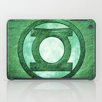 green lantern iPad Cases featuring Green Lantern: Symbol by André Joseph Martin