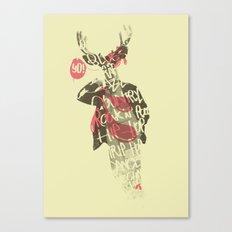 Yo! Deer Music Man Canvas Print