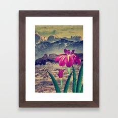 Evening Hues at Jiksa Framed Art Print