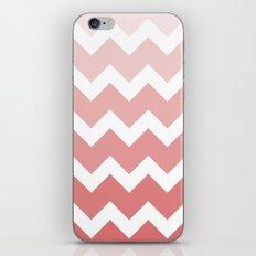 Chevron - Multi Red iPhone & iPod Skin