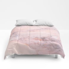 Blush Marble Comforters