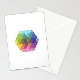 Fig. 040 Hexagon Shapes Stationery Cards