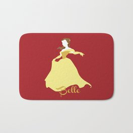 Belle from Beauty and the Beast Bath Mat