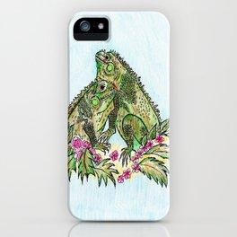 Las Iguanas iPhone Case