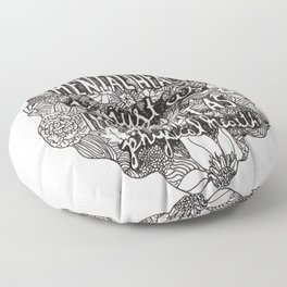Mental Health Floor Pillow