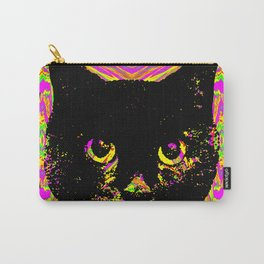 Purple Streak Quad Cat Carry-All Pouch