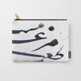 Poetic Traces Carry-All Pouch