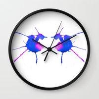 fairies Wall Clocks featuring Fairies by What do YOU see?
