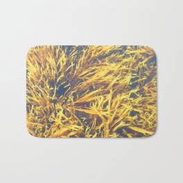 Watercolor Algae, Bladder Wrack 01, Nova Scotia, Canada, Its Complicated Bath Mat
