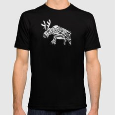 You're wearing a sweater! MEDIUM Mens Fitted Tee Black