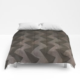 Rusty Origami. Fashion Textures Comforters