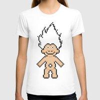 8bit T-shirts featuring 8bit troll by John Trivelli