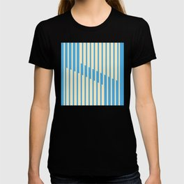 shifted pause equalized T-shirt