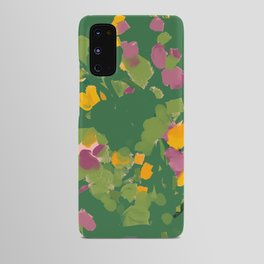 Abstract Floral Afternoon Android Case