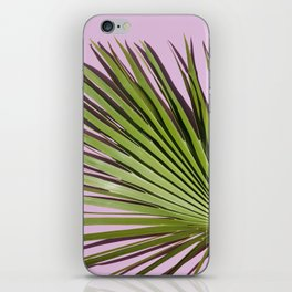 Palm on Lavender iPhone Skin