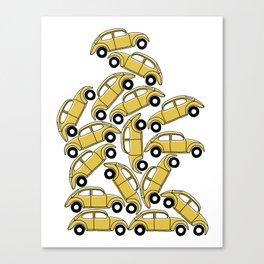 Slug Bug Pile Up Canvas Print