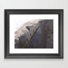 Youth Hostel found in a Puddle Framed Art Print