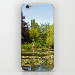 Summer Water Garden at Giverny iPhone Skin