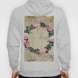 Wreath #Rose Flowers #Royal collection Hoody