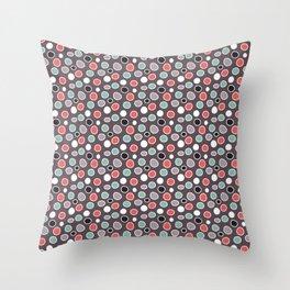 Raindots Spots Throw Pillow
