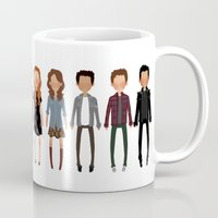 cargline Mugs featuring The gang by cargline