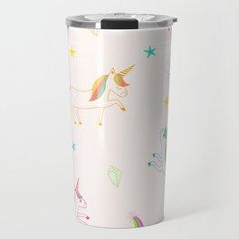 Cute unicorn pattern Travel Mug