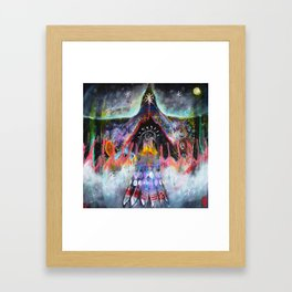 'The North Road' Framed Art Print